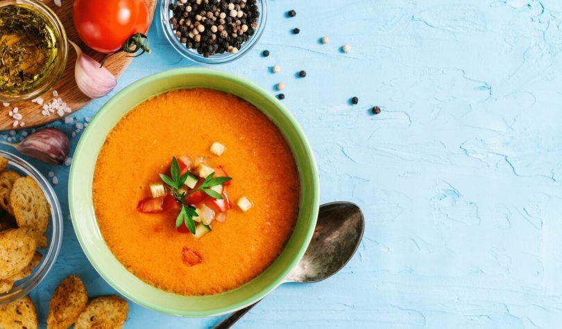 Sağlık Deposu Diyet Gazpacho Çorbası Tarifi