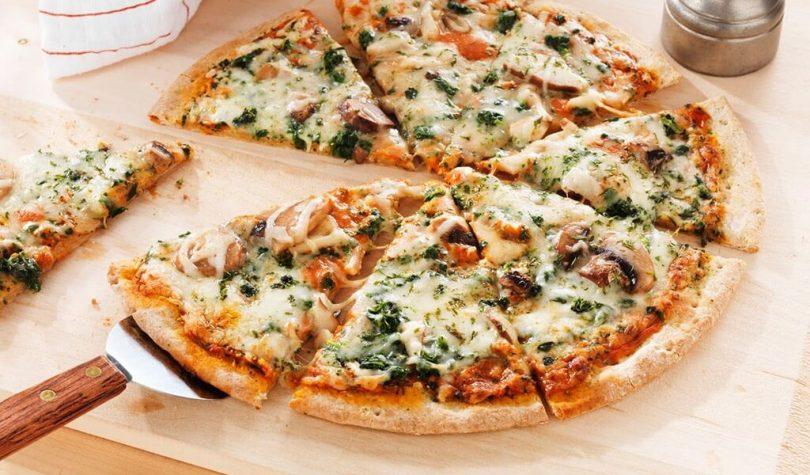 Düşük Kalorili Diyet Pizza Tarifi