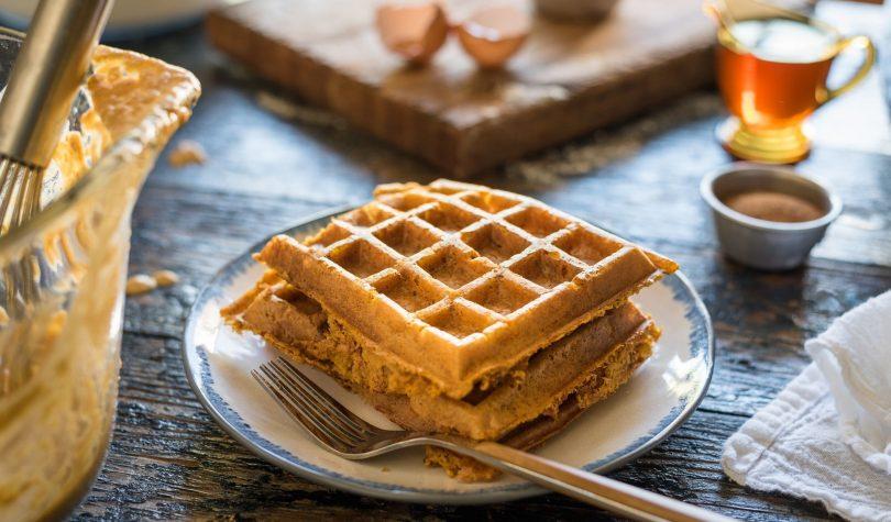 Tatlı Krizlerine Diyet Waffle Tarifi