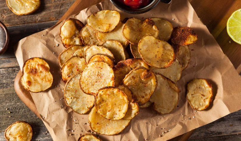Sağlıklı ve Diyet Patates Cips Tarifi Nasıl Yapılır?