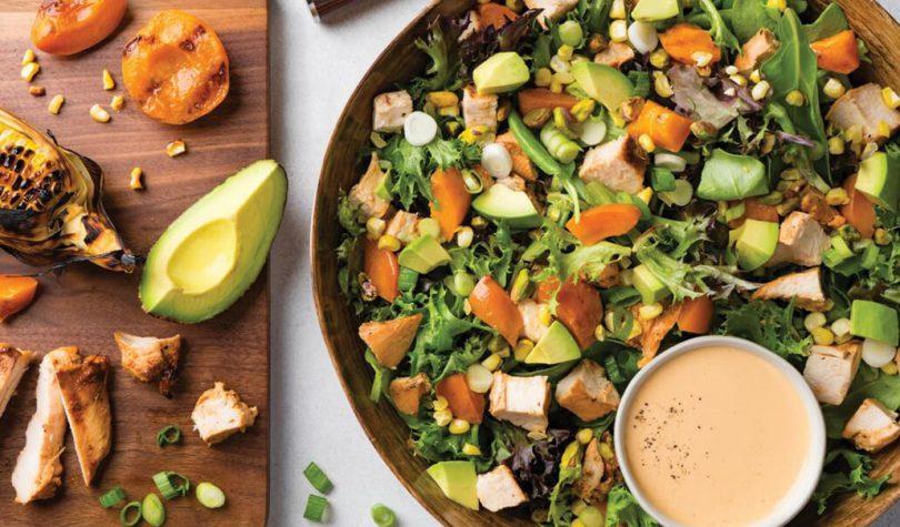Ton Balıklı ve Kayısılı Salata Tarifi ile Sağlıklı Diyet