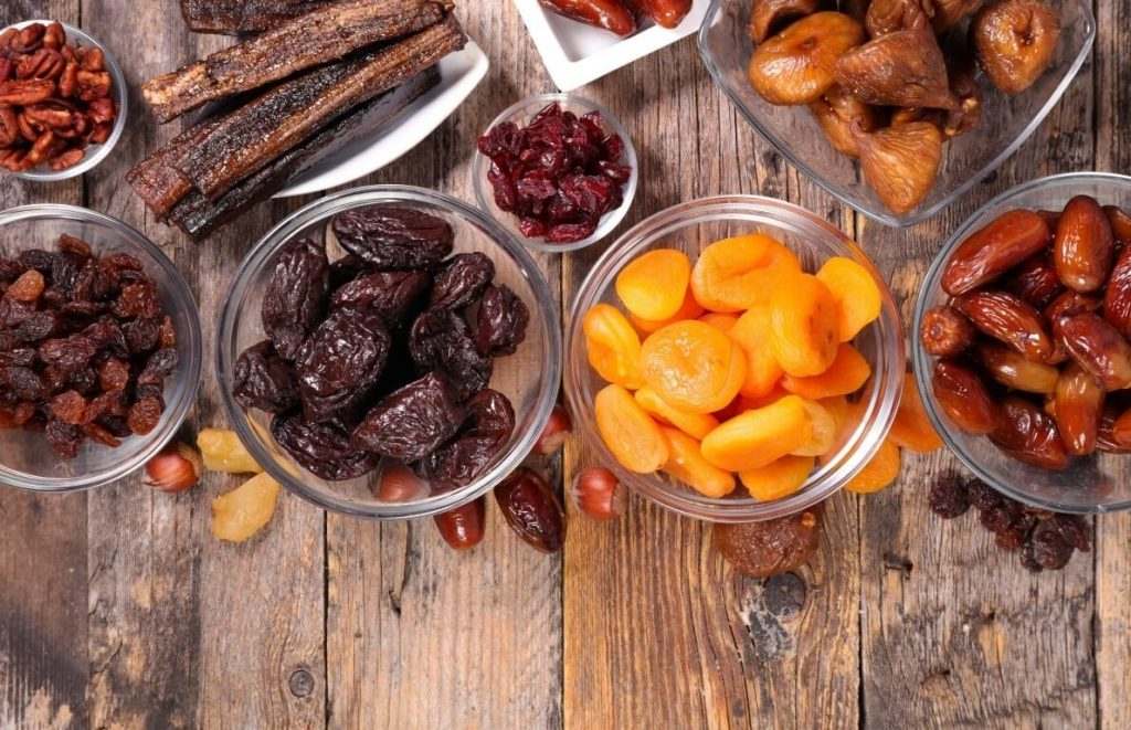 yüksek kalorili meyveler