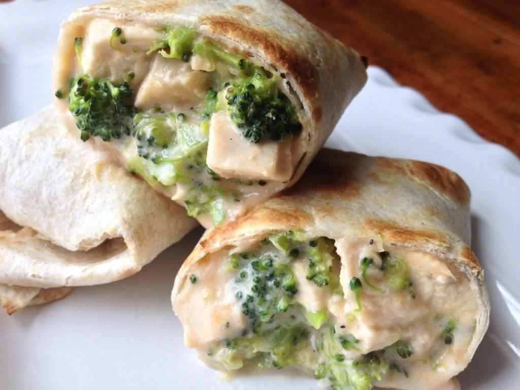 brokolili wrap