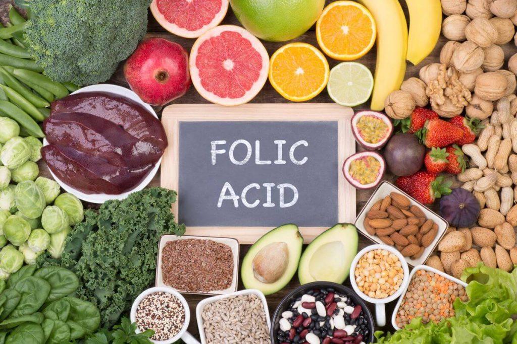 folik asit içeren yiyecekler