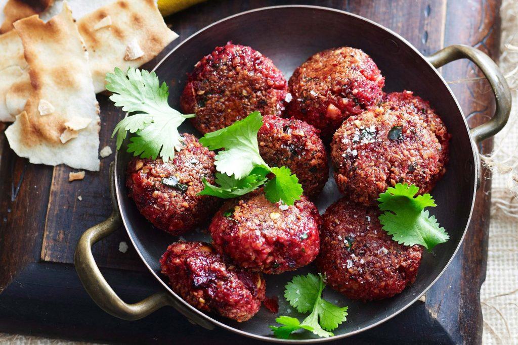 pancarlı falafel ve tahin sos