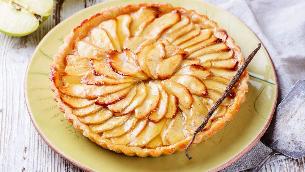 diyet elmalı tart