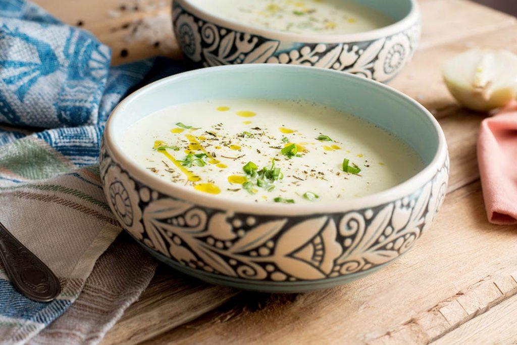 yulaflı sebze çorbası