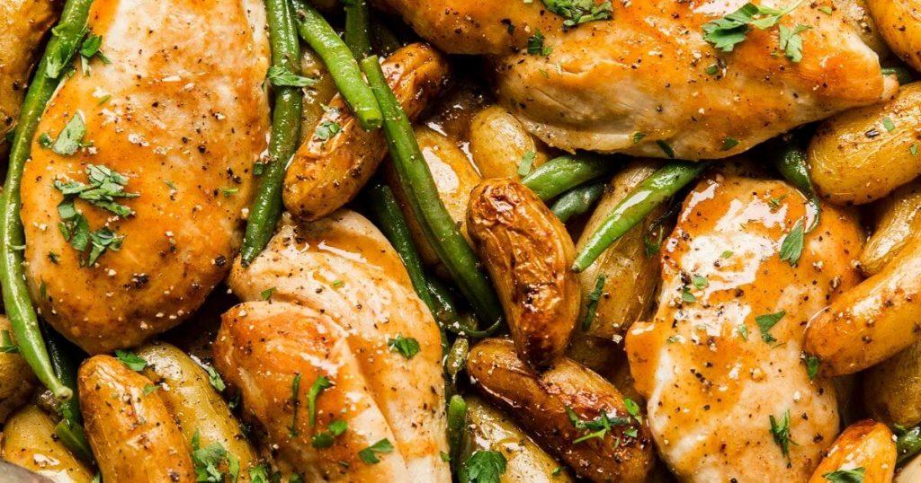 ballı hardallı tavuk