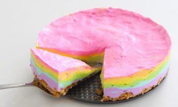 Diyet Gökkuşağı Cheesecake Tarifi Nasıl Yapılır?