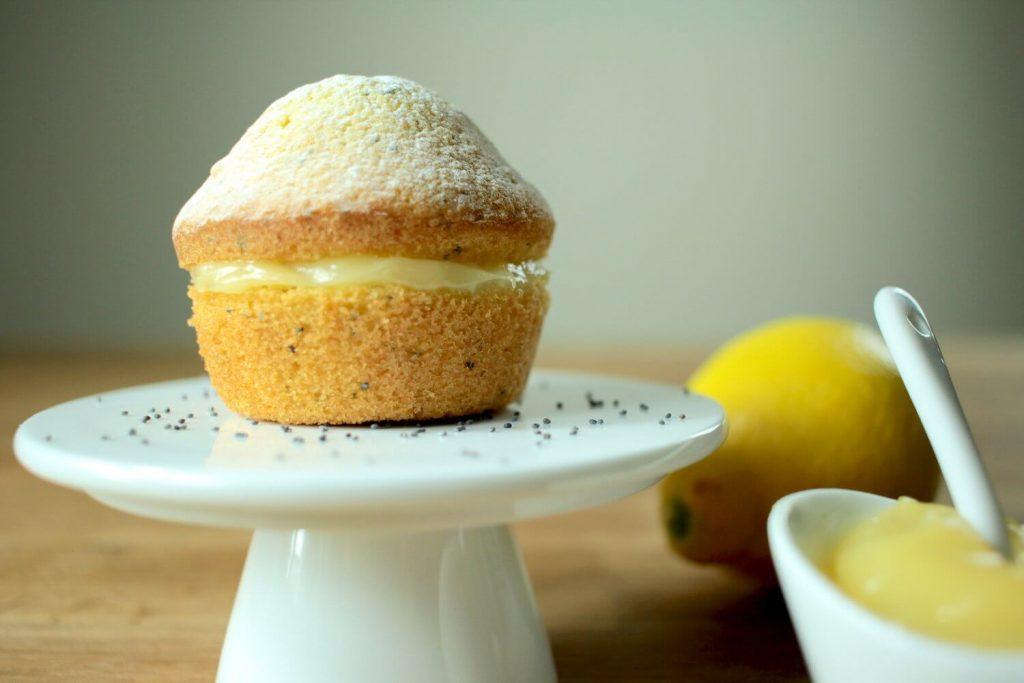 vişneli limonlu mini pasta