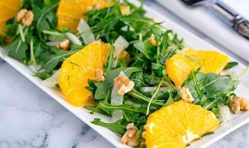 Haşhaşlı Portakallı Roka Salatası Tarifi Nasıl Yapılır?
