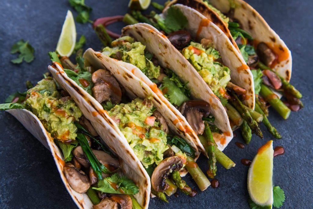 sebzeli taco