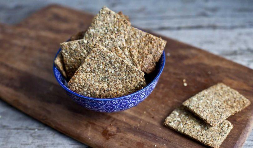 Chia Tohumlu Diyet Kraker Tarifi Nasıl Yapılır?