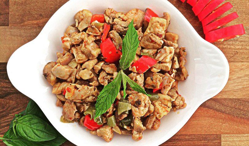 Diyet Baharatlı Tavuk Sote Tarifi Nasıl Yapılır?