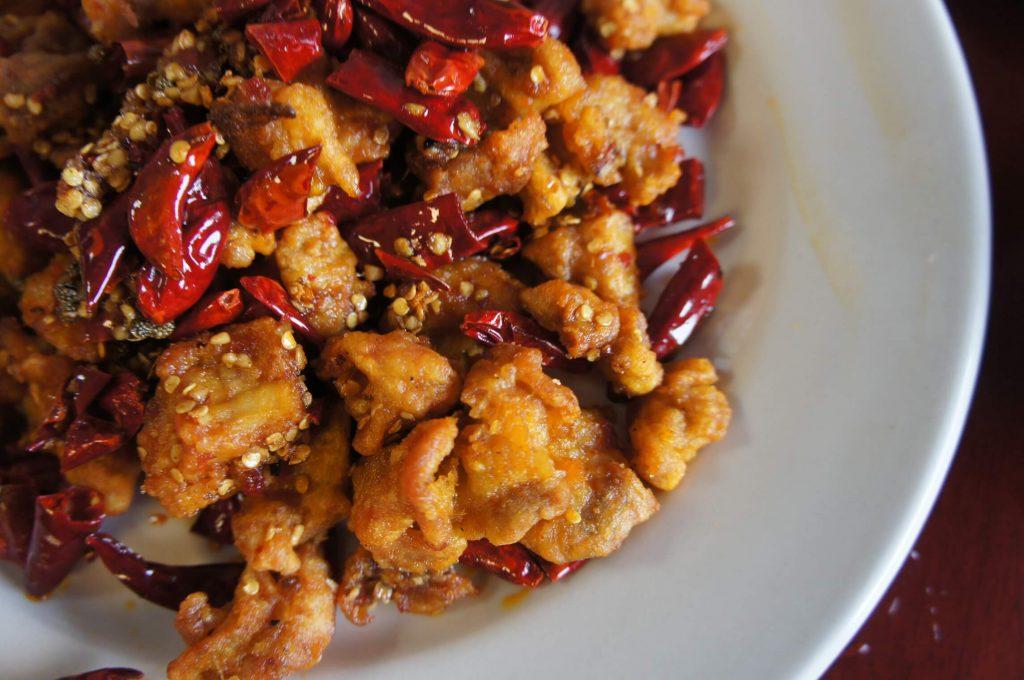 diyet baharatlı tavuk sote