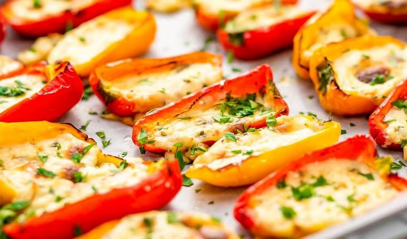 Fırında Peynirli Biber Kayığı Tarifi Nasıl Yapılır?