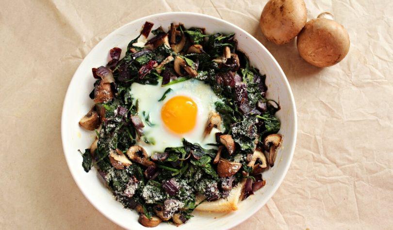 Narlı Ispanaklı Yumurta Tarifi Nasıl Yapılır?