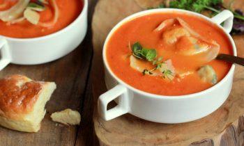 Yulaflı Domates Çorbası Tarifi Nasıl Yapılır?